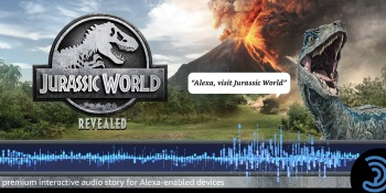 Jurassic World Revealed is an Amazon Alexa skill game.