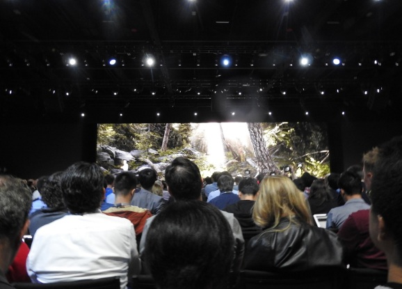 Apple's Metal demo at WWDC 2018.