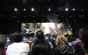 Apple's Metal demo at WWDC 2018.