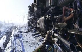 Metro Exodus has Artyom riding the Aurora locomotive.