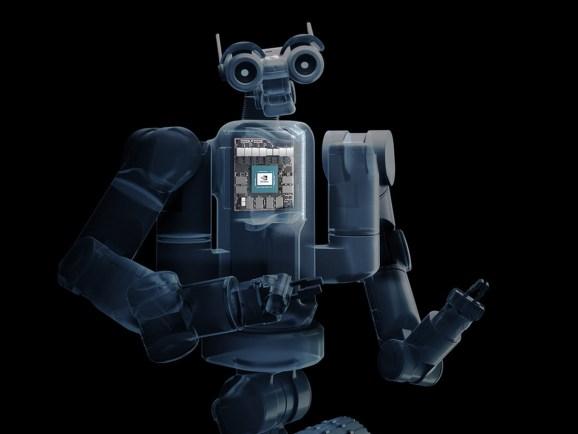 Nvidia's Isaac robot platform.