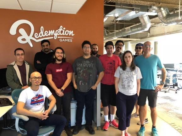 Redemption Games team