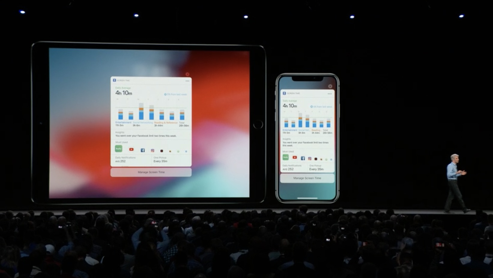 Apple introduces iOS 12, its latest operating system iteration, at developer conference