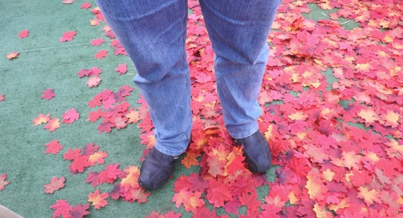 Ignore the shoes of journalist Chris Morris. Why does Sony have fake maple leaves?