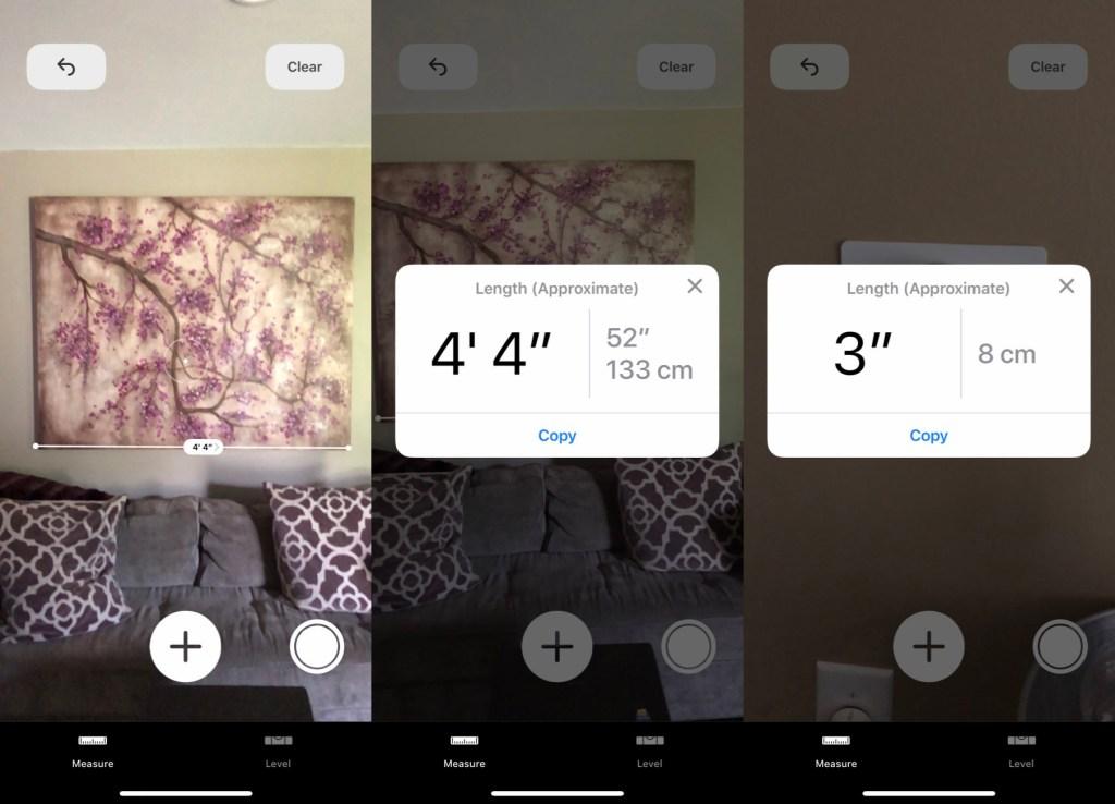 Apple's iOS 12 Measure app: Is 'good enough' AI-assisted AR