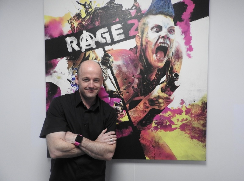 Tim Willits of id Software