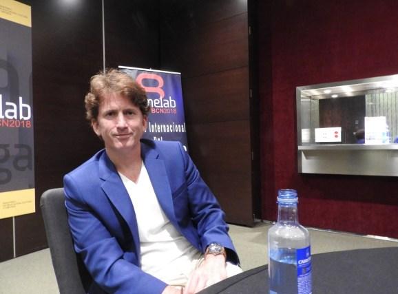 Todd Howard, director of Bethesda Game Studios.