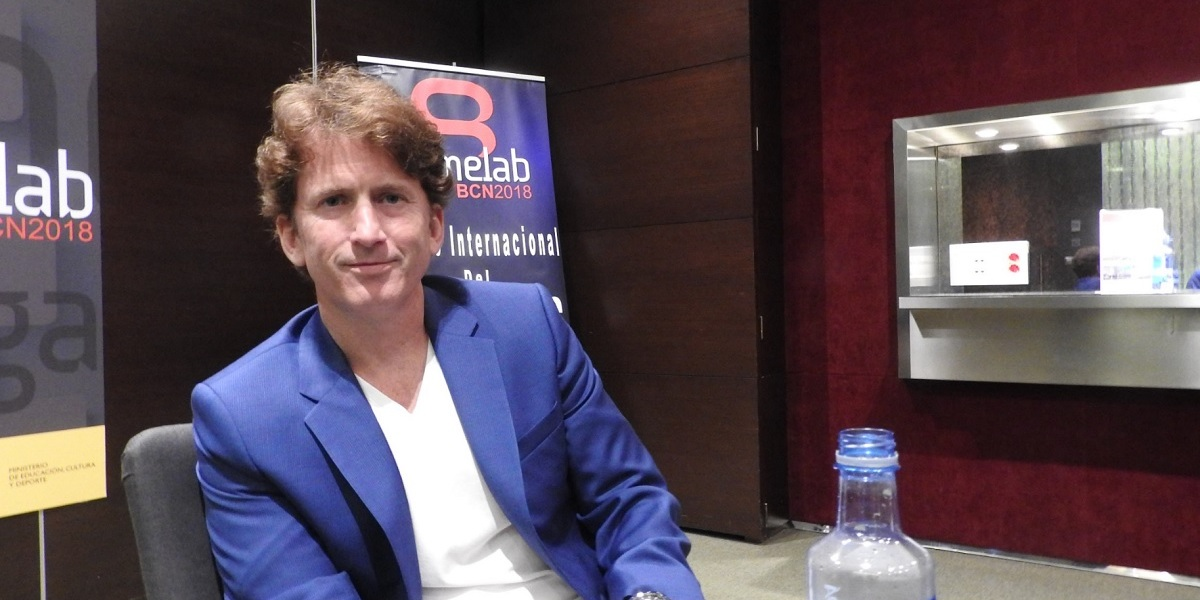 Todd Howard, director of Bethesda Game Studios.