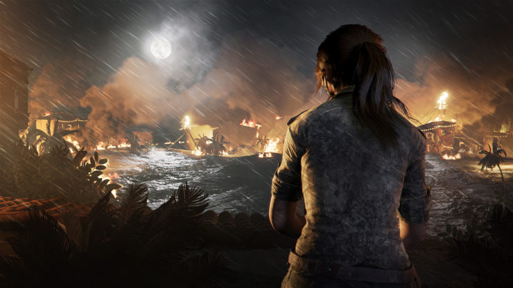 Shadow of the Tomb Raider E3 Trailer Shows Crazy Plane Crash