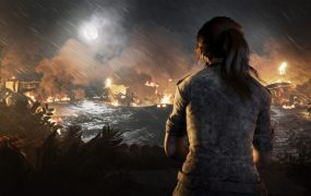 Lara Croft triggers a disaster in Shadow of the Tomb Raider.