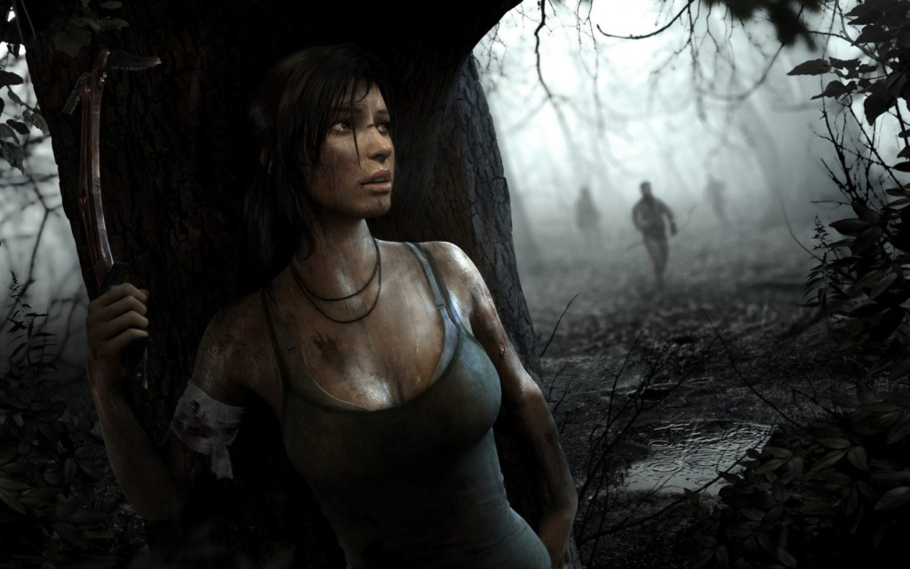 Lara hides in the shadows and strikes fear in her enemies.