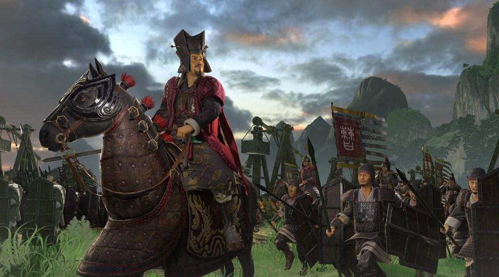 Warlord Cao Cao in Total War: Three Kingdoms.