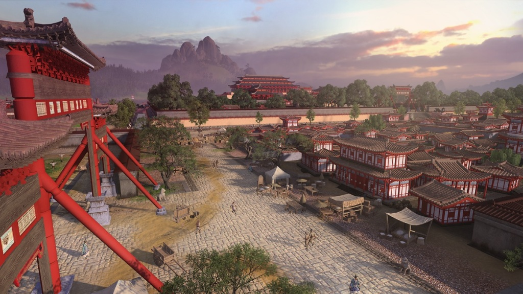 Total War: Three Kingdoms features a new engine with better graphics.