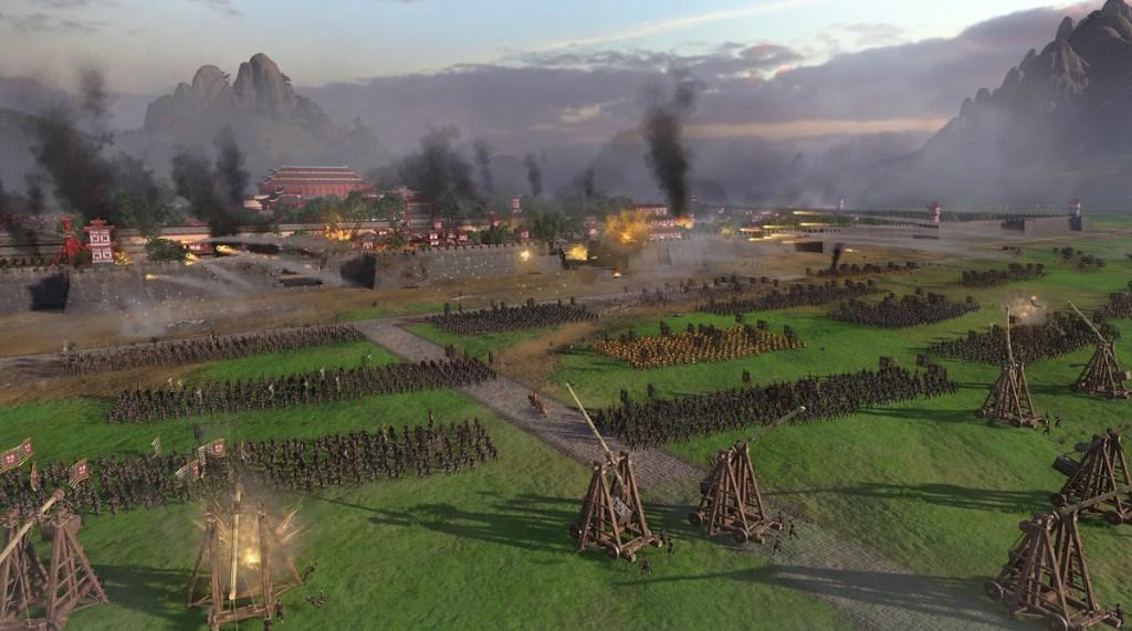You'll fight massive battles in Total War: Three Kingdoms.