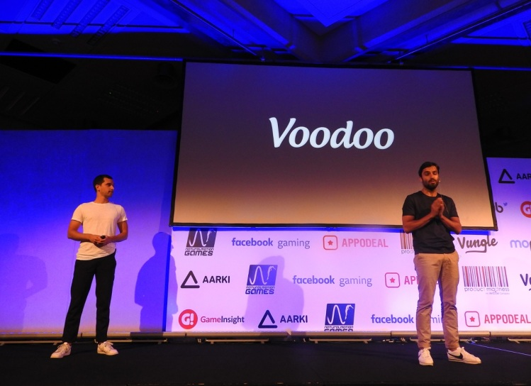 Alex Yazdi (right) and Gabriel Rivaud of Voodoo.