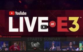 YouTube Live at E3 2018
