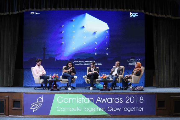 The second annual Tehran Game Convention featured the Gamistan Awards.
