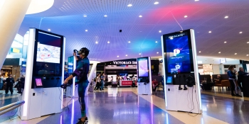 Virtual reality lands at New York's John F. Kennedy International Airport