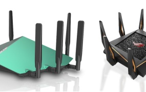 D-Link's and Asus's next-generation 802.11ax routers are super-fast and aesthetically brutal.