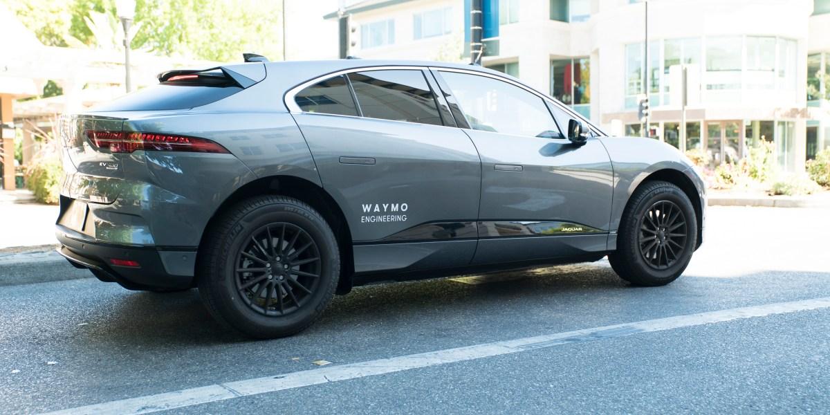 Waymo Jaguar I-Paces