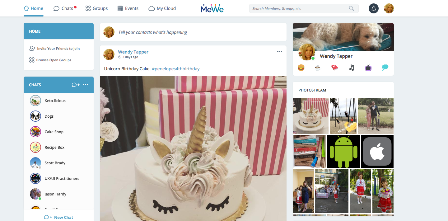 Is Building a Facebook Alternative Worth the Effort? MeWe Thinks so