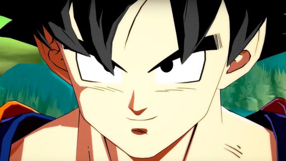 Goku sans the gold hair.