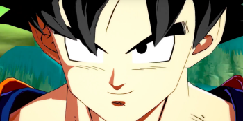 Goku sans the gold hair.