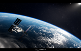 Opaque Space's immersive space simulator Earthlight.
