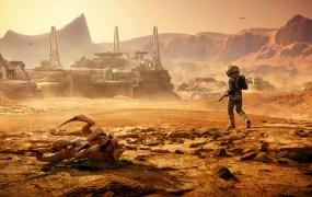 Lost on Mars.