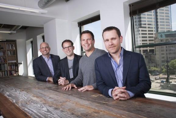 From left to right, High Alpha Managing Partner Scott Dorsey,