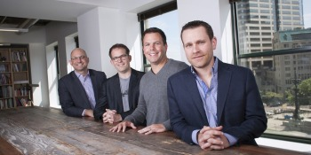 From left to right, High Alpha Managing Partner Scott Dorsey,