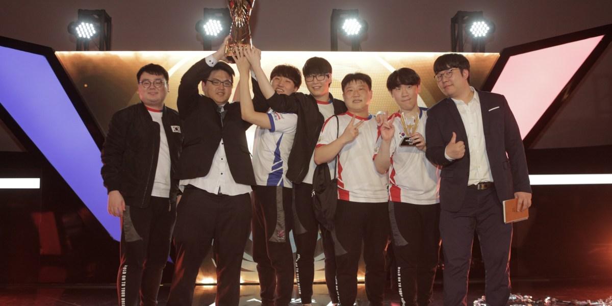 Korea took home the