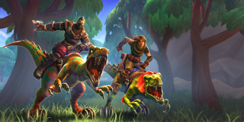 Realm Royale skins from its Battle Pass.