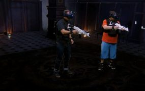The Sandbox mixed reality VR experience blends the virtual with the physical unlike other VR arcades.