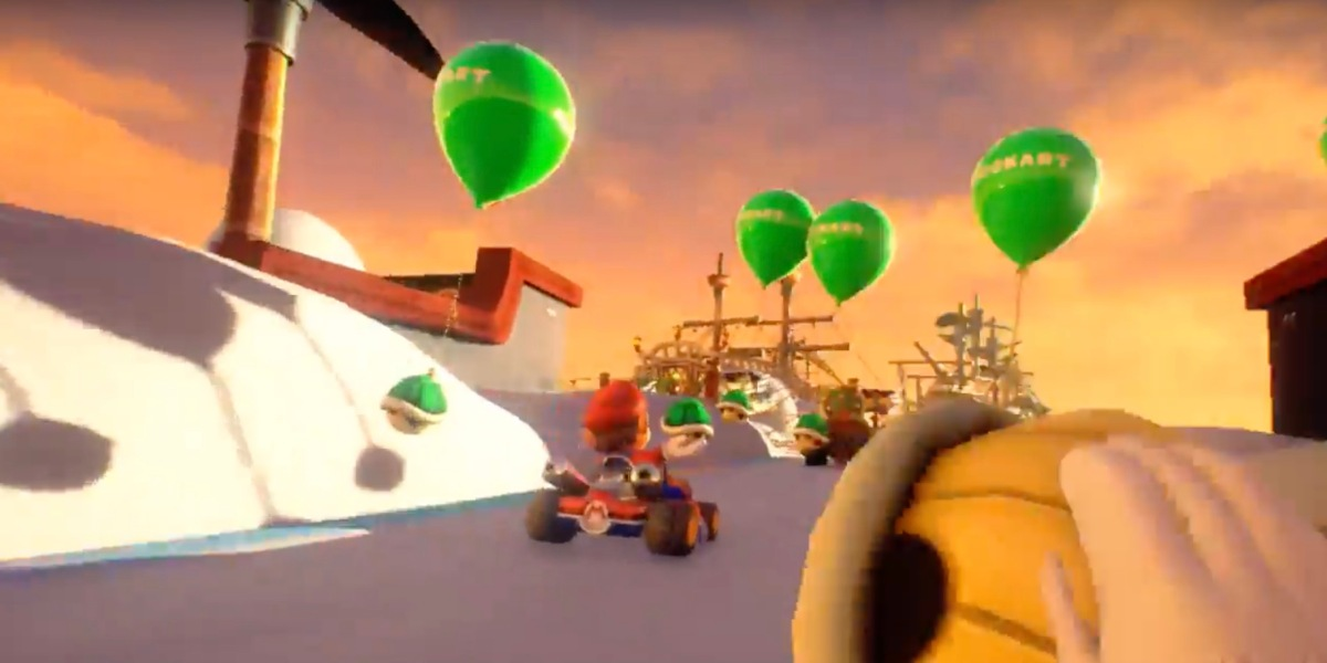 Nintendo and Bandai Namco's Mario Kart VR has been out for roughly a year in Japan -- solely as a location-based VR arcade title.