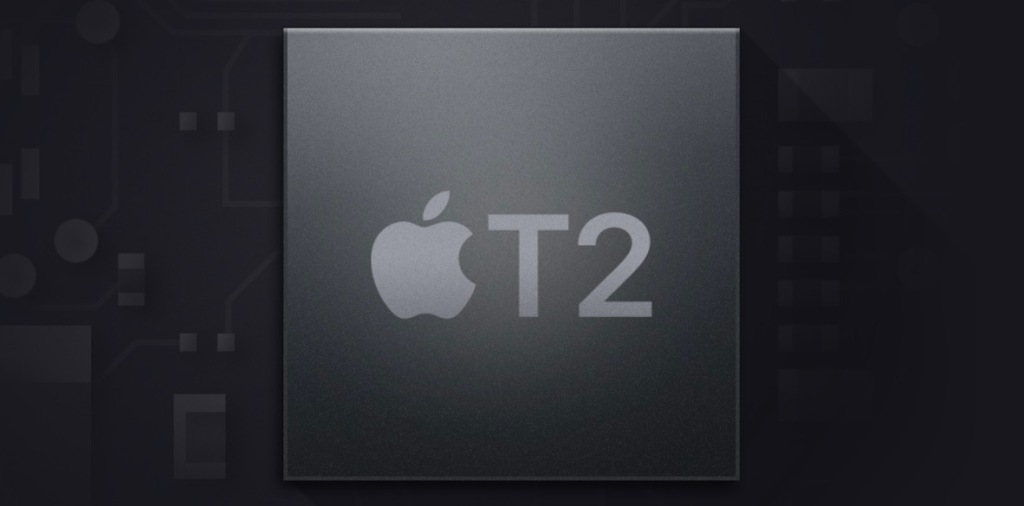 Apple's T2 chip is found in the 2018 MacBook Pro and iMac Pro.