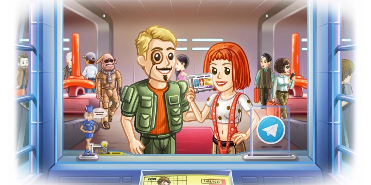 Telegram's new Passport digital ID-sharing feature is evoking the sci-fi classic The Fifth Element.