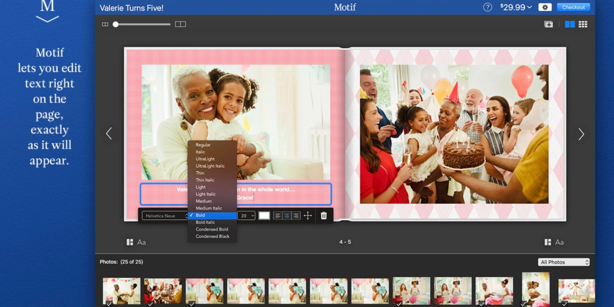 Motif from RR Donnelley gives Mac users the ability to print Apple-quality photo books - a service Apple recently announced it was discontinuing.
