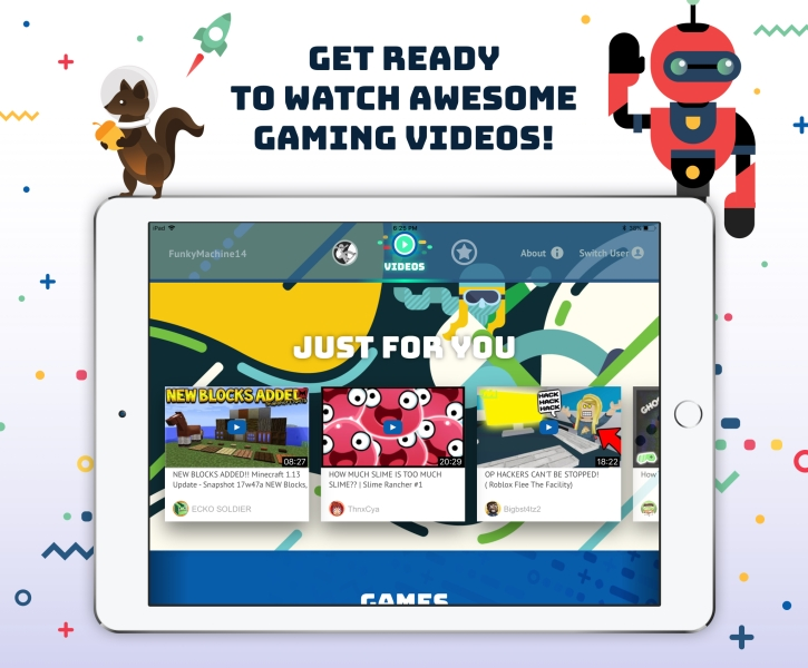 Tankee's gaming video network protects kids from dangers of