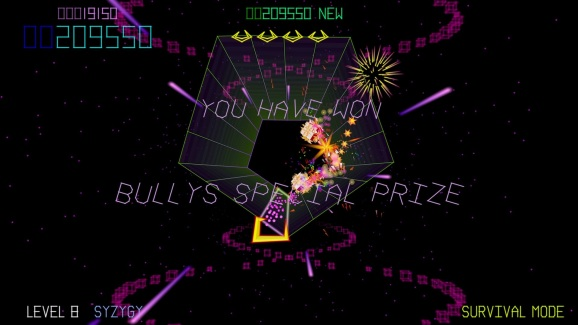 Tempest 4000 serves up plenty of farm animal references with its old-school style.