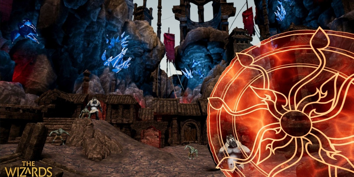 The Wizards: Trials of Meloria brings on of VR's best spellcasting games to mobile.