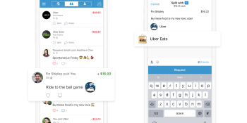 Uber and Uber Eats now let you split the bill using Venmo