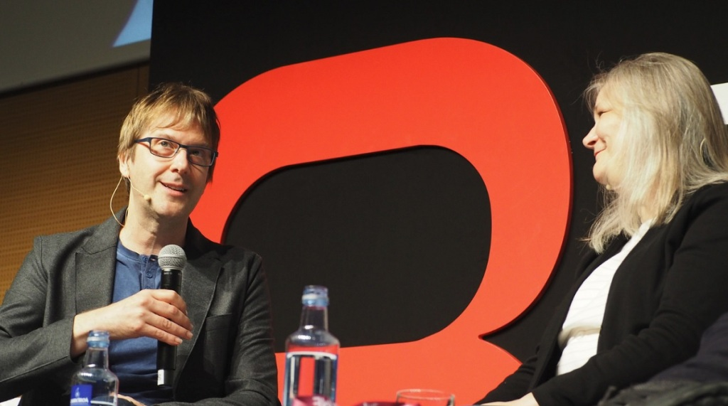Mark Cerny and Amy Hennig talk about the good old days at Gamelab.