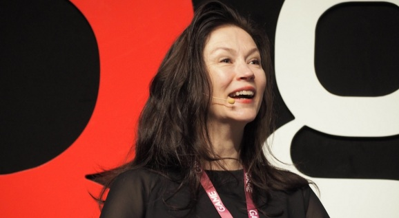 Angie Smets talked about what it takes to build a new intellectual property for games at Gamelab.