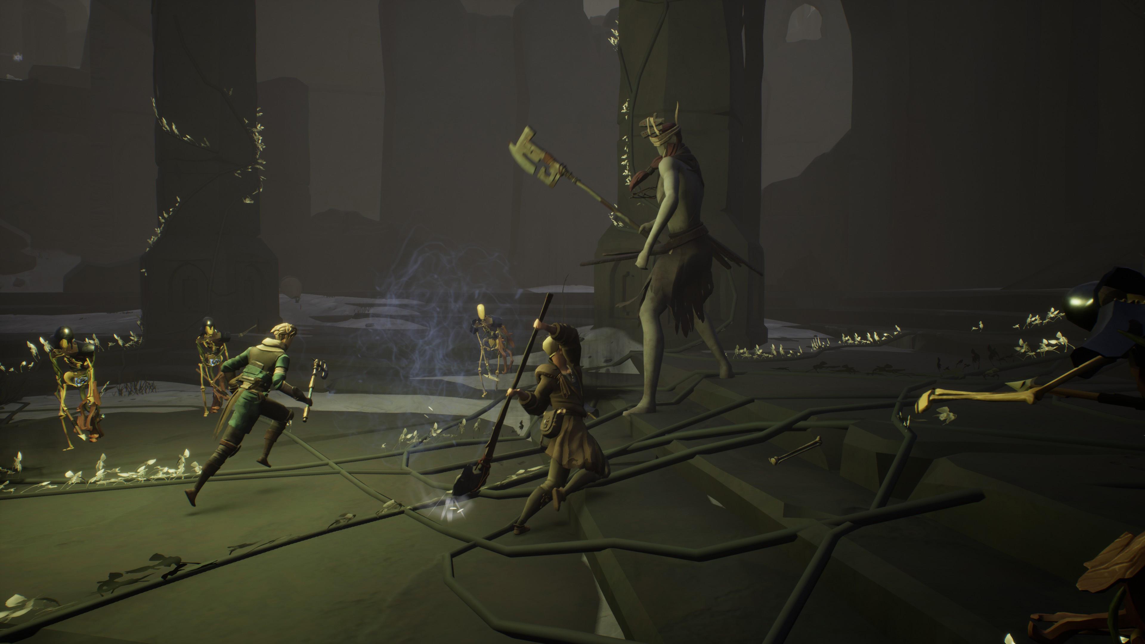 Ashen is an RPG where other players wear NPC masks | VentureBeat