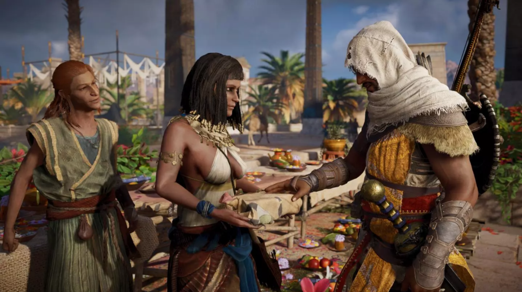 Assassin's Creed: Origins in action.