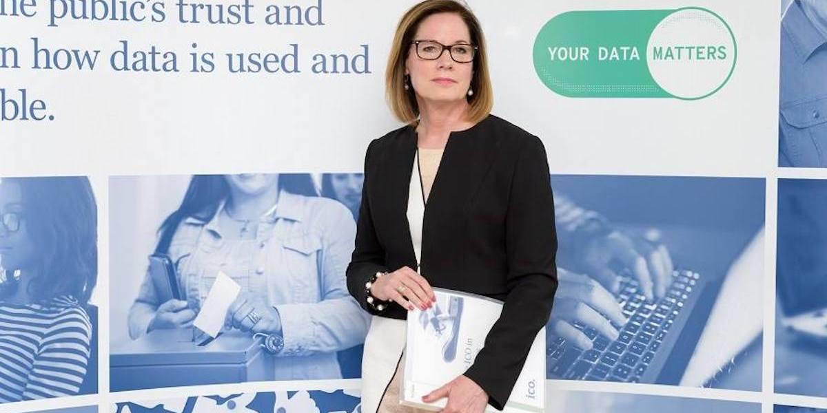 Elizabeth Denham, U.K. Information Commissioner