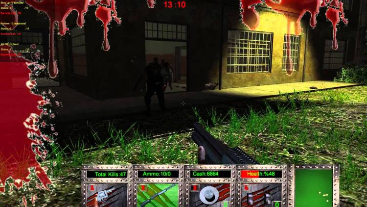 One of the games from the infamous developer Digital Homicide.