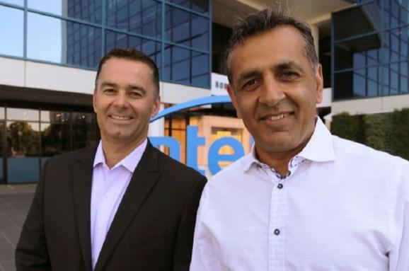 Dan McNamara of Intel and Ronnie