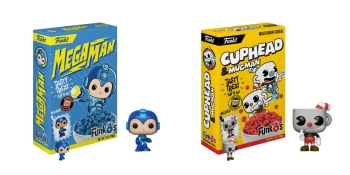 Funko is serving up Mega Man and Cuphead cereals